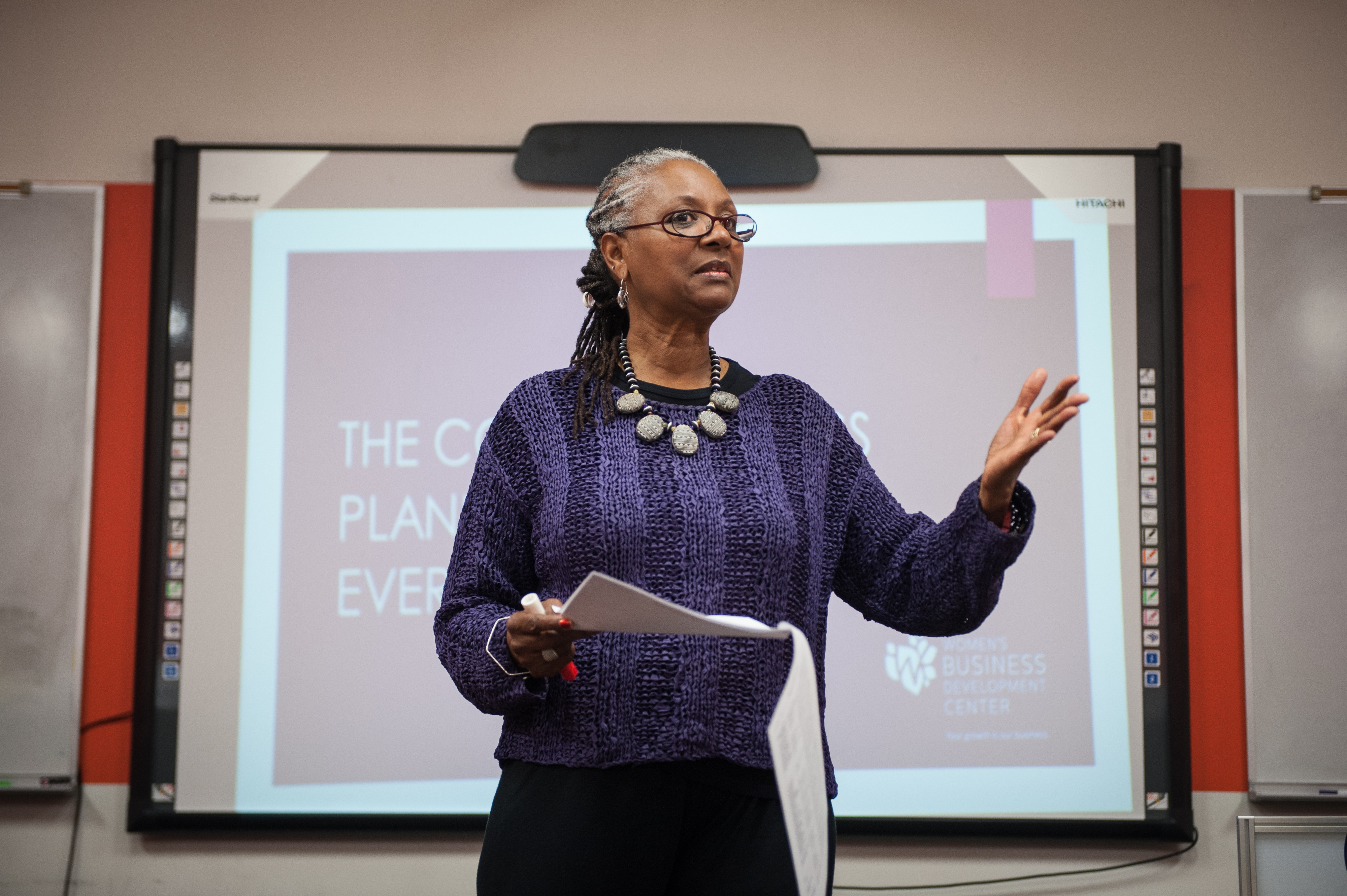 Participants of the B&E: A Plan For Profit and \nYoung Parents Program at a YWCA facility in Chicago, IL. Tuesday, September 30, 2015. Photo: Christopher Dilts/