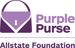 Allstate Foundation Purple Purse Logo