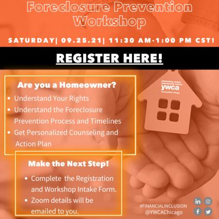 Foreclosure Prevention Workshop @ Online