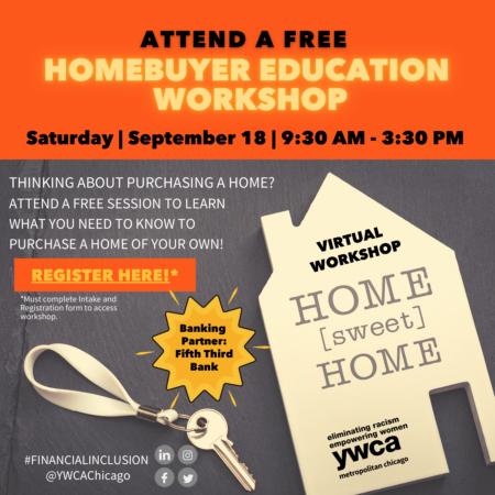 First Time Homebuyer Education Workshop @ Online